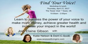 Find Your Voice workshop & lunch @ The Tower Club  | Vienna | Virginia | United States