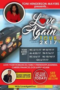 Love Again Tour @ Celebration Center for Spiritual Living | Falls Church | Virginia | United States