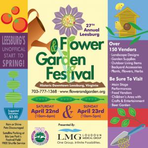 Leesburg Flower and Garden Festival @ Downtown Leesburg, VA