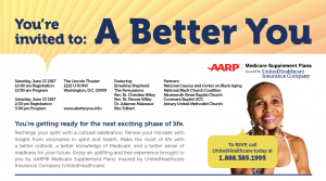 """A Better You"" Wellness & Health Events @ The Lincoln Theatre  