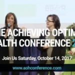 Achieving Optimal Health Conference returns to Georgetown October 14 + giveaway!