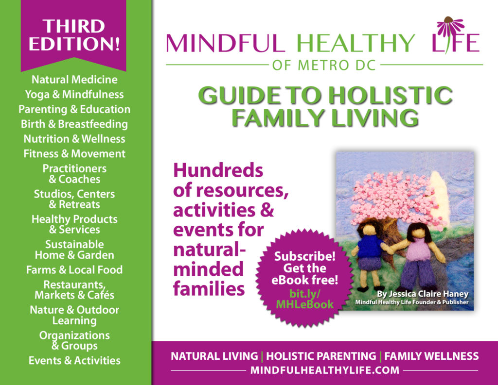 eBook Guide to Holistic Family Living card