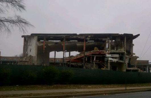 high school being demolished 2