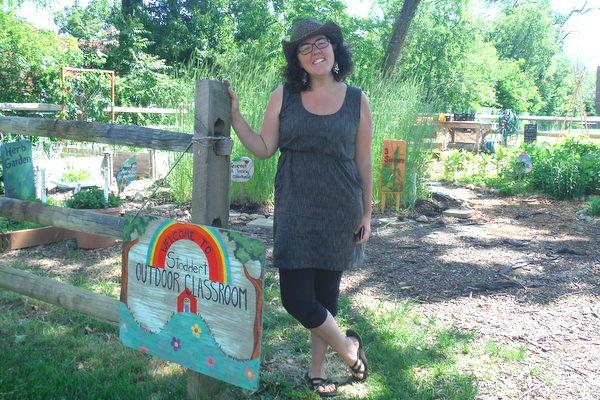 Stoddert Elementary School garden Kealy