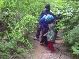 Washington-Waldorf-School-outdoor-Sun-Garden-program-rainy-hike-300x224