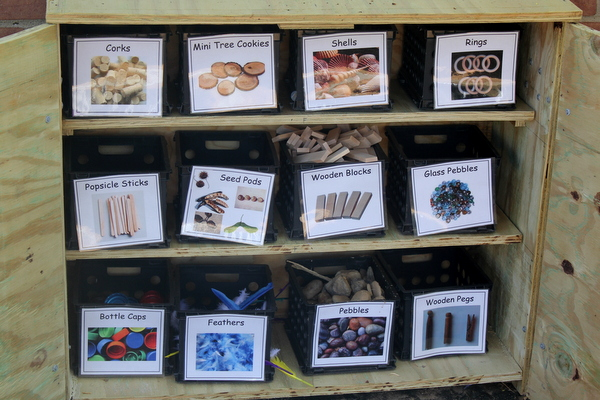 Westlawn elementary loose parts