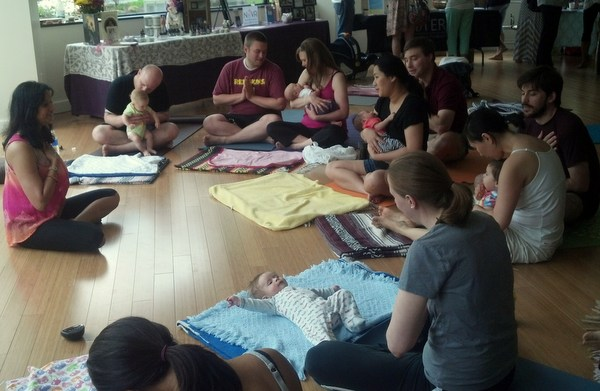 Love Your Baby Day 2014 Beloved Yoga 2