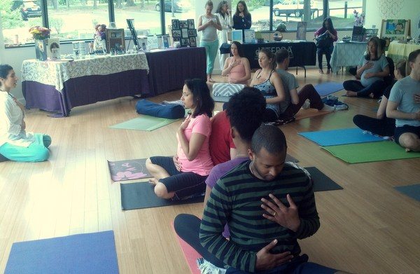 Love Your Baby Day 2014 Beloved Yoga
