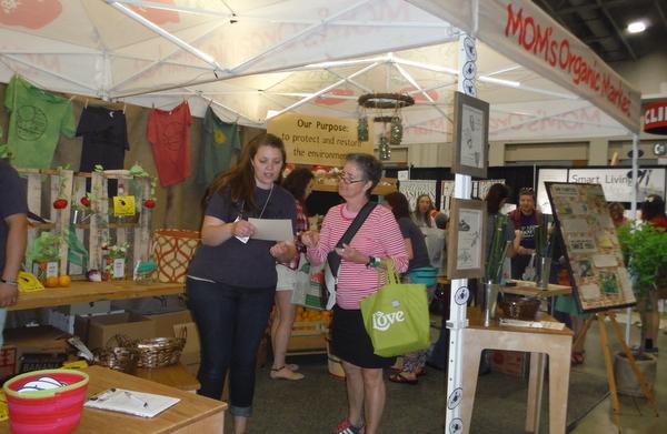 MOMs Organic Market 2014 DC Green Festival