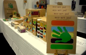 eco-kids Art Supplies 2014 DC Green Festival