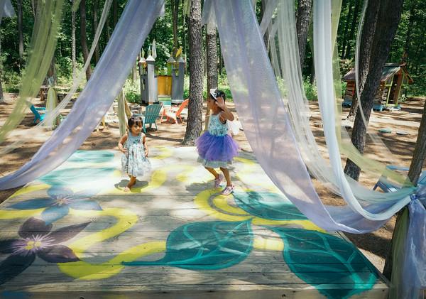 Annmarie Sculpture Garden stage