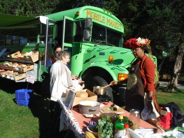 Arcadia Farm fall festival mobile market