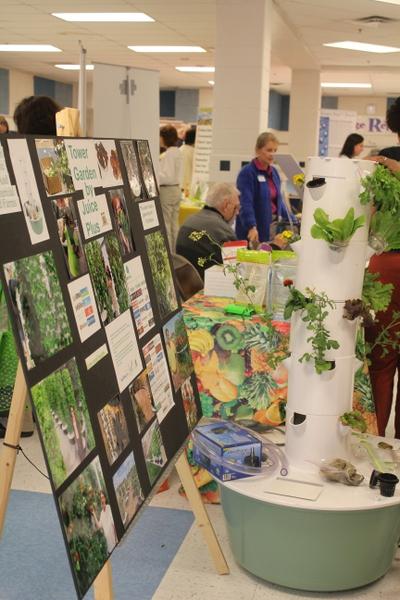 Grow Your Health 2014 exhibit hall 3