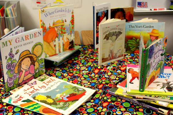 Grow Your Health 2014 kids gardening class books