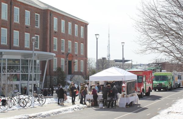 Rooting DC 2015 Wilson High School and food trucks