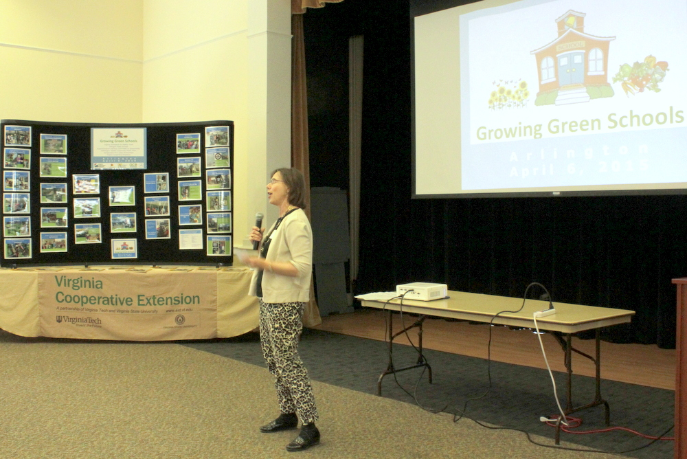 2015 Growing Green Schools in Arlington - Gail Ammons