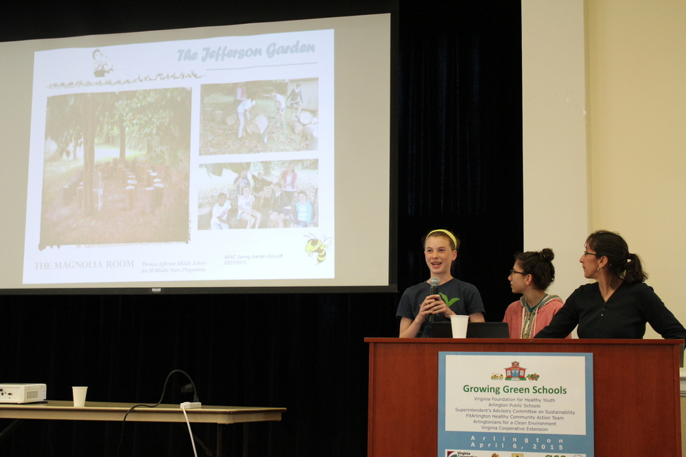 2015 Growing Green Schools in Arlington - TJ Middle School 1