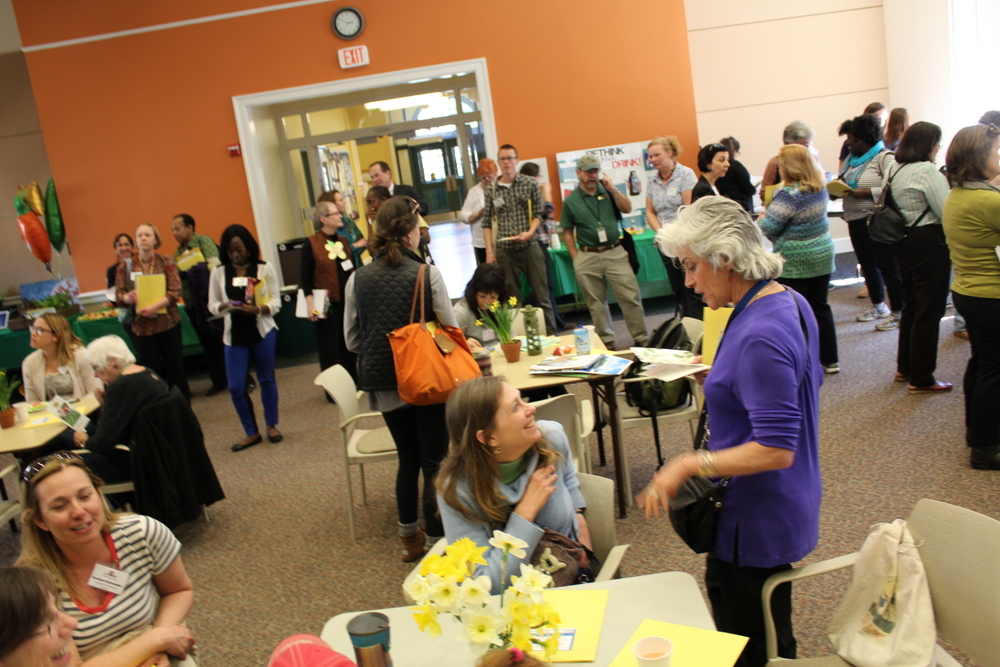 2015 Growing Green Schools in Arlington - room overview