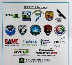2015 NoVA Outside School Environmental Action Showcase program - partners