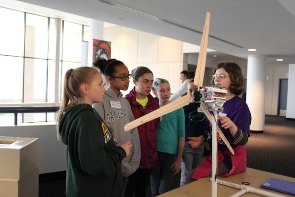 NoVA Outside School Environmental Action Showcase Kid Wind