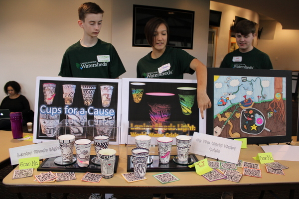 NoVA Outside School Environmental Action Showcase Lanier MS art