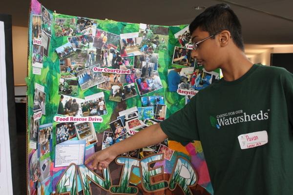 NoVA Outside School Environmental Action Showcase Lanier MS