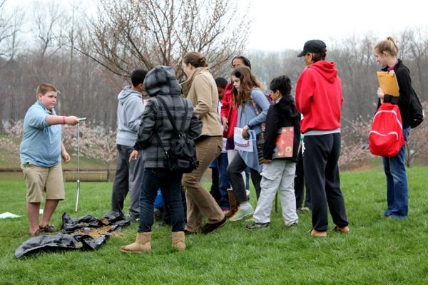 NoVA Outside School Environmental Action Showcase hands-on workshop