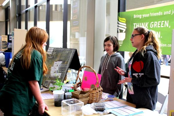 NoVA Outside School Environmental Action Showcase school Longfellow 2