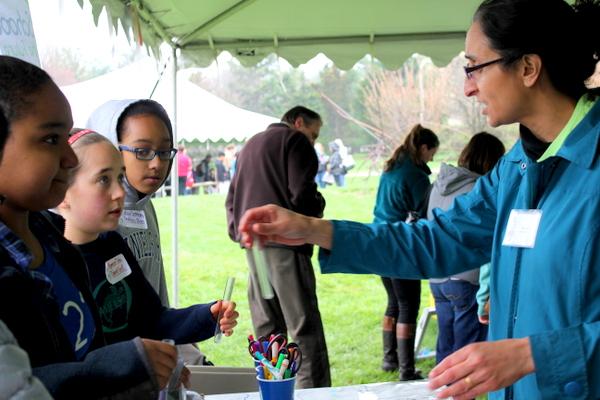 NoVA Outside School Environmental Action Showcase testing pH 2