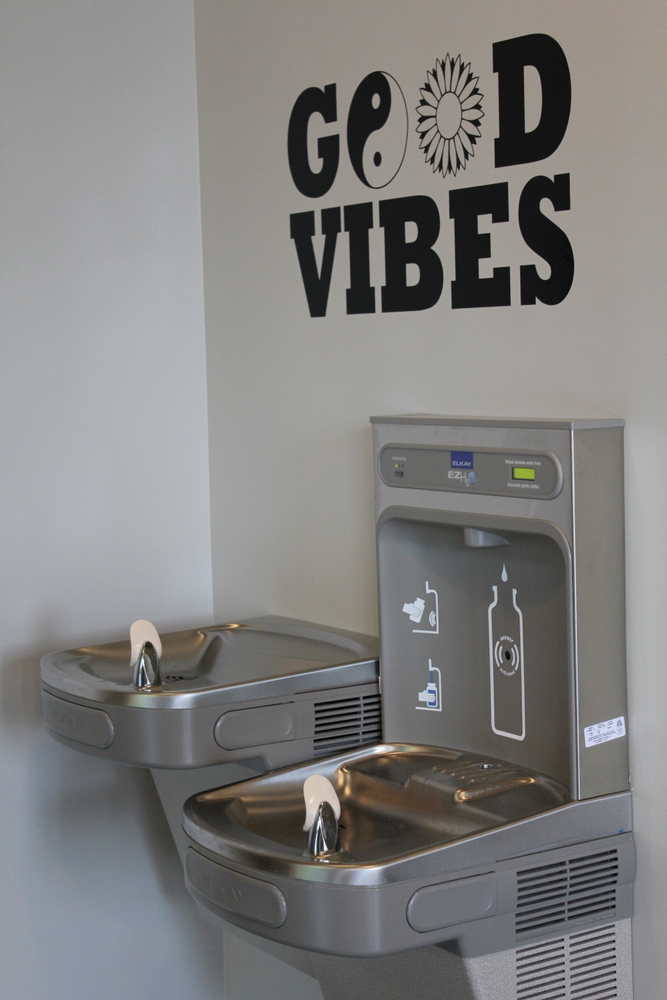 Ease Yoga Cafe by Mindful Healthy Life - water fountain and bottle filler