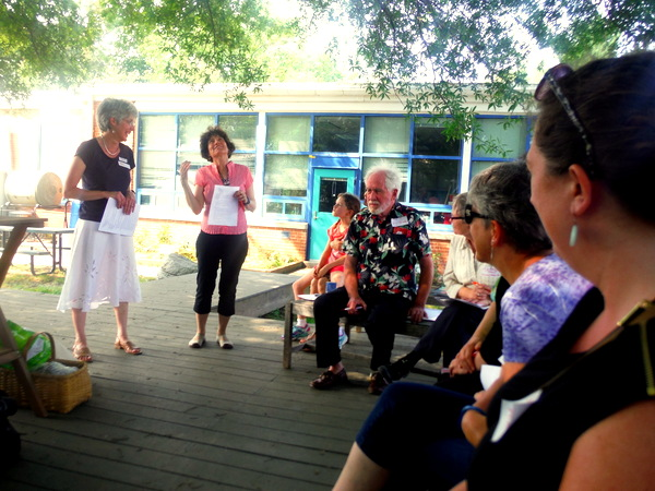 APS Growing Green Schools Garden Meetup Jamestown Elementary 6-8-15 - introductions