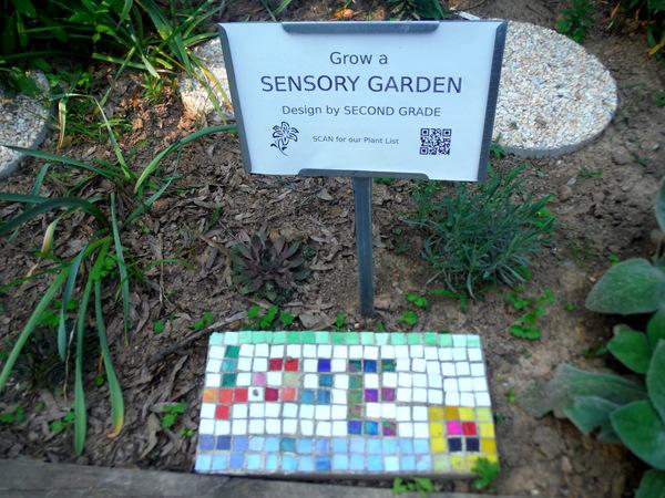 Jamestown Elementary School Garden Sensory Garden