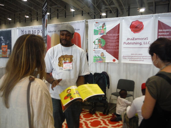 JhaZamoraS Publishing at DC Green Festival