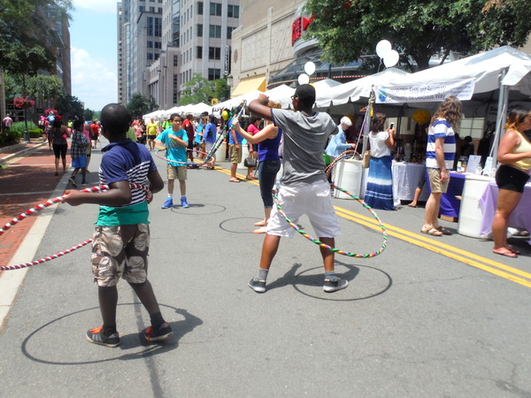 Love Your Body Day 2015 - hula hoops
