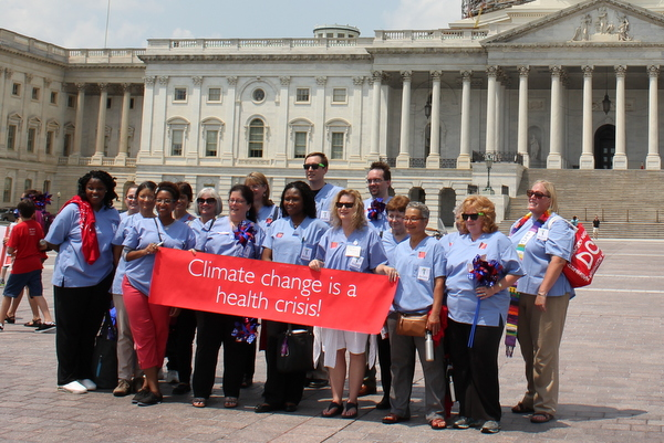Moms Clean Air Force Play-In for Climate Action 2015 Climate Change is a Health Issue