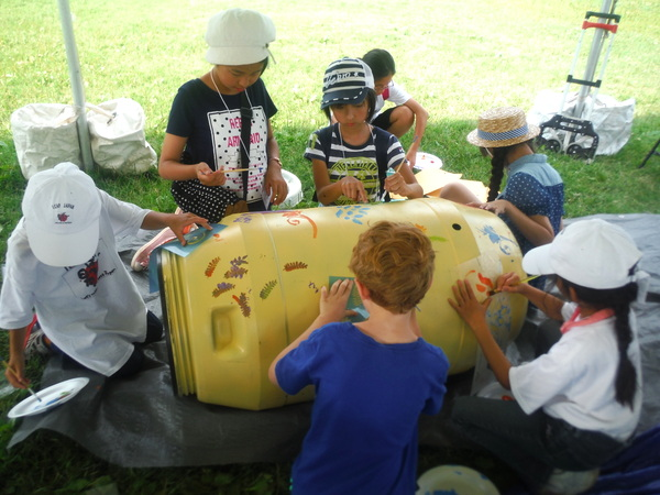 World Children's Festival 2015 - Friends of the Occoquan Rain Barrels for Peace 2 - by Mindful Healthy Life