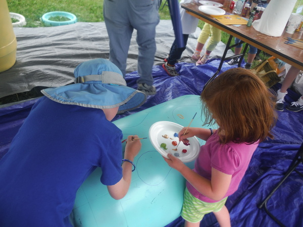 World Children's Festival 2015 - Friends of the Occoquan Rain Barrels for Peace - by Mindful Healthy Life