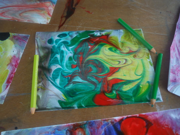 World Children's Festival 2015 -  marbling 2 - by Mindful Healthy Life
