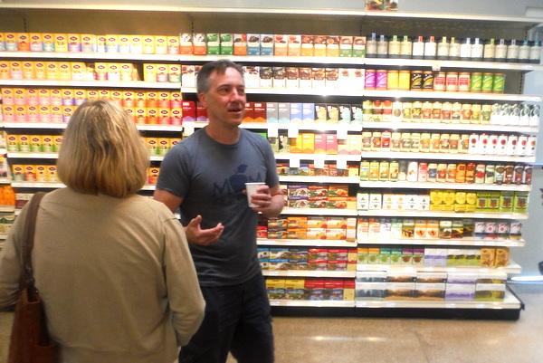 MOM's Organic Market Woodbridge Opening - Scott Nash - Mindful Healthy Life