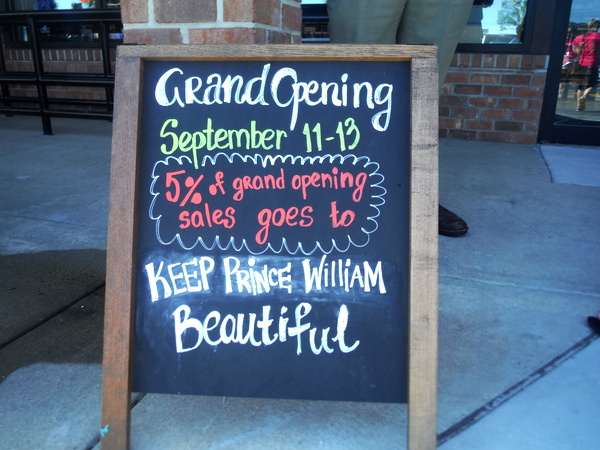 MOM's Organic Market Woodbridge Opening - donation - Mindful Healthy Life