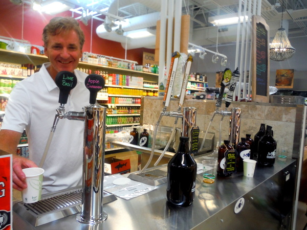 MOM's Organic Market Woodbridge Opening - kombucha on tap - Mindful Healthy Life