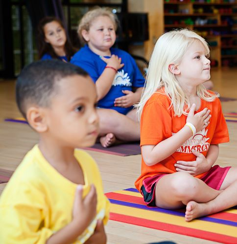 Move with Me hands on heart children's yoga