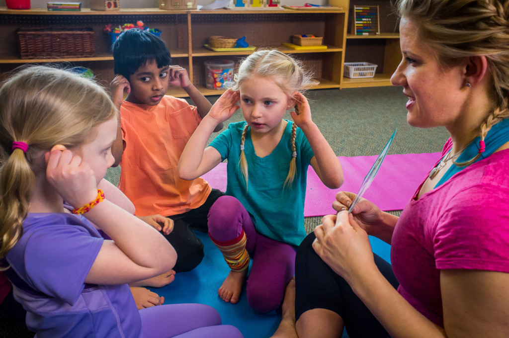 Move with Me yoga with children