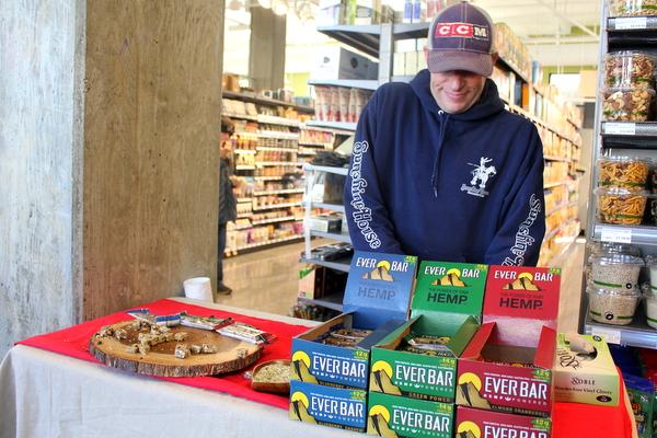 Moms Organic Market Arlington opening by Mindful Healthy Life - Ever Bar tasting