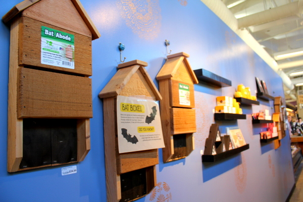 Moms Organic Market Arlington opening by Mindful Healthy Life - bat houses