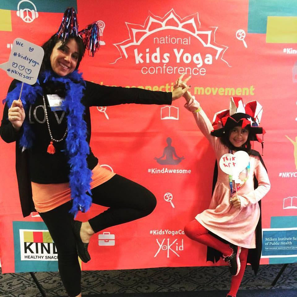 Pleasance Silcki at second National Kids Yoga Conference