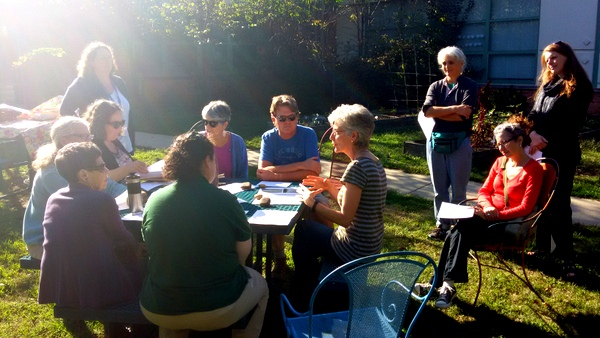 Campbell Elementary School Garden Meetup October 2016