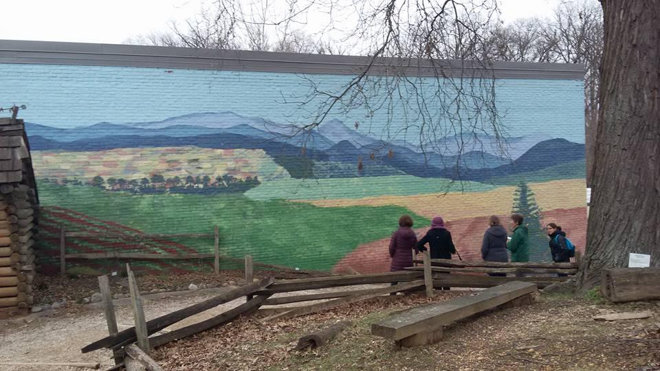 Tuckahoe Elementary Discovery Schoolard piedmont painting