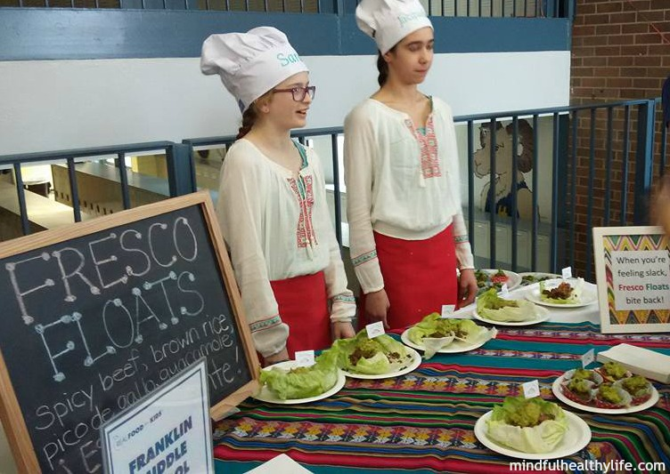 Franklin Middle School - Real Food for Kids - Mindful Healthy Life