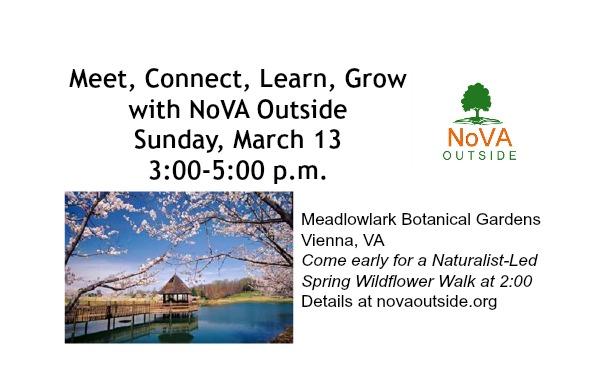 Meet Connect Learn Grow NoVA Outside